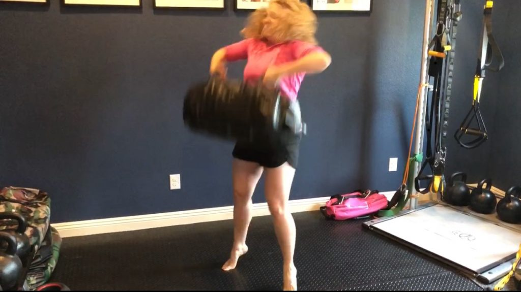 sandbag workout