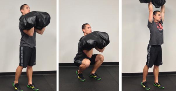 sandbag training