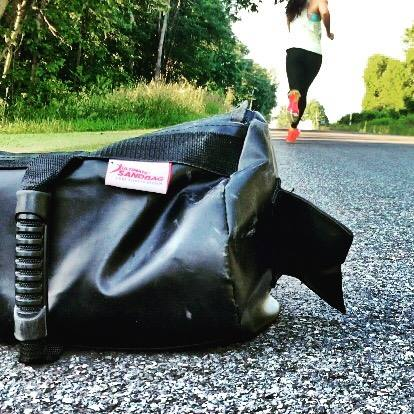 Image result for hill repeats with sandbag