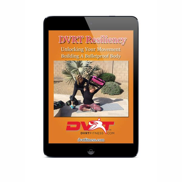 DVRT Resiliency YogaPilatesCorrective Program Downloadable 600x600 - DVRT Resiliency Yoga/Pilates/Corrective Program