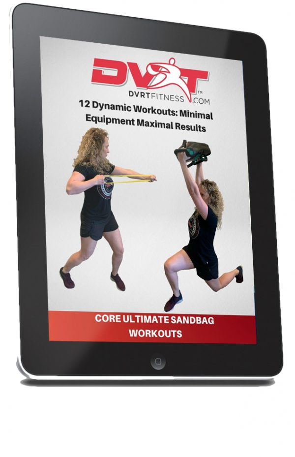 coreworkoutcover 600x929 - Ultimate Sandbag Core Package: Women's Top Seller IN STOCK