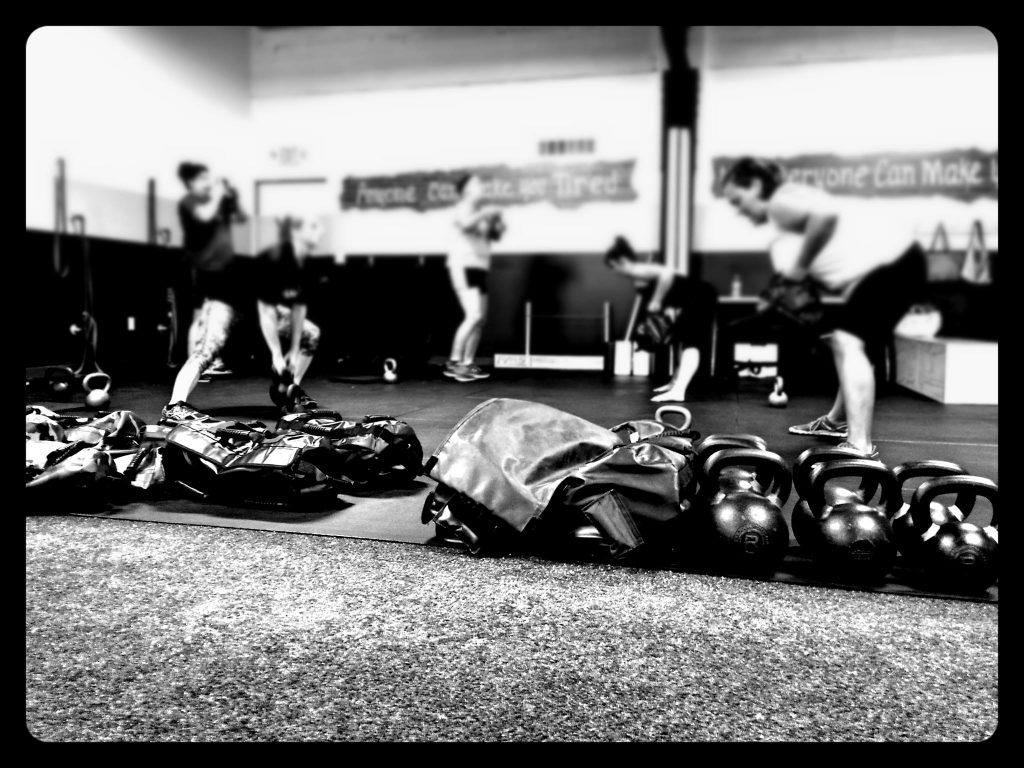 sandbag workout