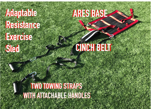 ultimate sandbag training ares sled
