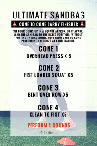cone to cone finisher 200x300 - Loaded Carry Cardio