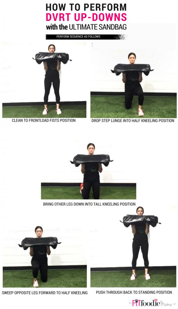 FL Up Downs Pinterest4 590x1024 - The Best Sandbag Exercise You Aren't Doing!