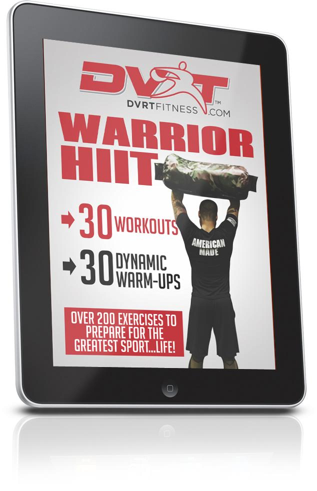 Dvrt warrior hiit downloadable program ultimate sandbag