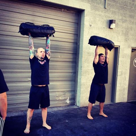 sandbag thrusters