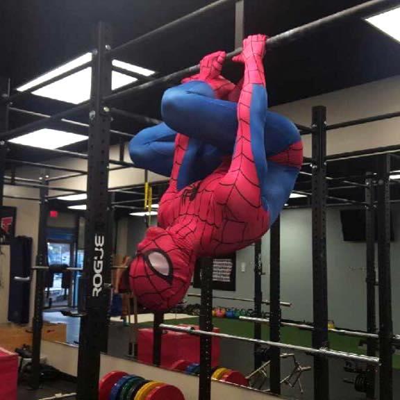 Training Like A Superhero