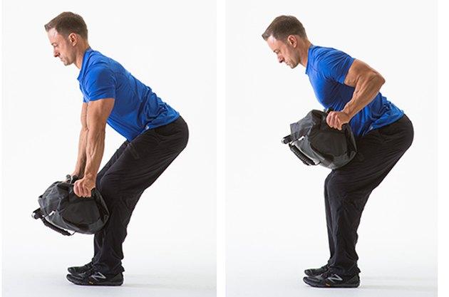 sandbag exercises
