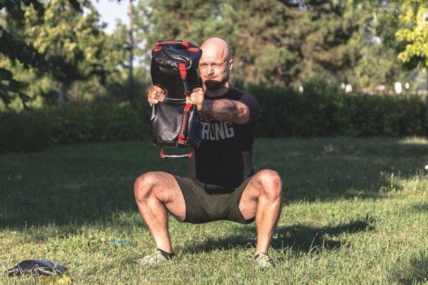 Ultimate Sandbag squat