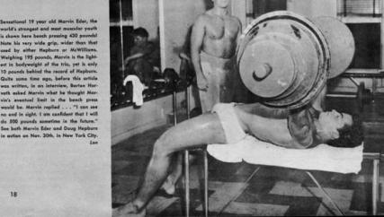 marvin eder 19 ans 430 pounds au bench press ou develope couche - Better Pressing For Strong & More Resilient Upper Body