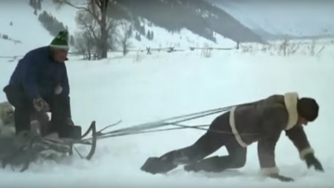 Sled Pull - 3 Minimalist Total Body Workouts