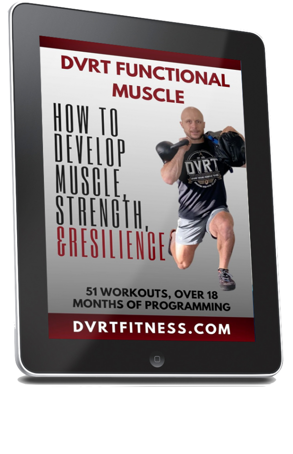 DVRTMuscleCover 600x929 - DVRT Functional Muscle Program
