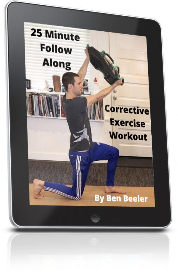 Benworkout 600x929 - Follow Along 25 Minute Corrective Exercise Workout