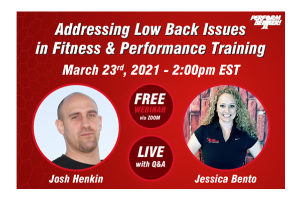 WeeklyWebinar jhenkinjbento Week8 600x400 - Where Most Go Wrong With Low Back Pain