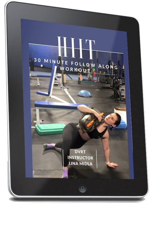 LinaProgram 600x929 - Follow Along 30 Minute HIIT Workout
