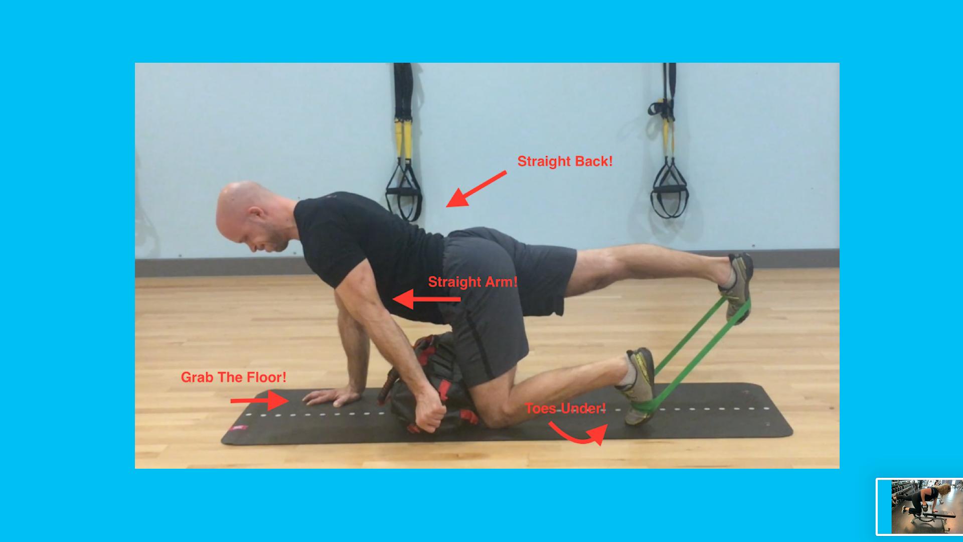 ultimate sandbag core exercise