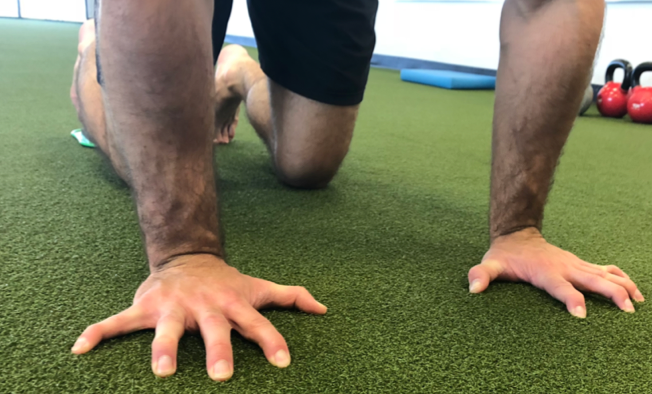 plank lateral drag